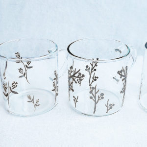 set 4 bicchieri/mug